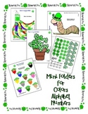 St Patrick's Day Shamrock Center Activities 4 Mini Centers Colors Number Letters