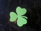 St. Patrick's Day Shamrock Die Cut