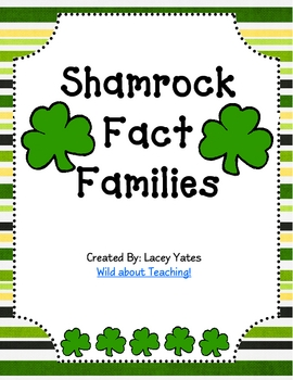 St. Patrick's Day-Shamrock Fact Families