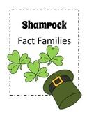 St. Patrick's Day - Shamrock Fact Family Activity