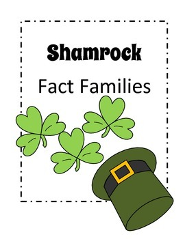 St. Patrick's Day - Shamrock Fact Family Activity