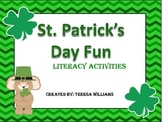 St. Patrick's Day Shamrock Fun Literacy Activities