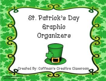 St. Patrick's Day Shamrock Graphic Organizers