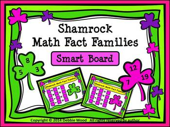 St. Patrick's Day Math SMART Board