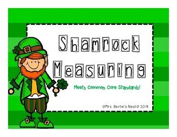 St. Patrick's Day Shamrock Measuring
