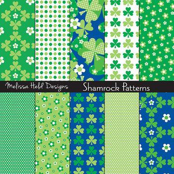 St. Patrick's Day Shamrock Patterns