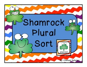 St. Patrick's Day: Shamrock Plural Sort