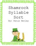 St. Patrick's Day-Shamrock Syllable Sort