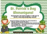 St. Patrick's Day Shenanigans: Activities, Games & Leprechaun Fun!