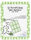 St. Patricks Day Short Vowel Game for Kiga - Grade 1