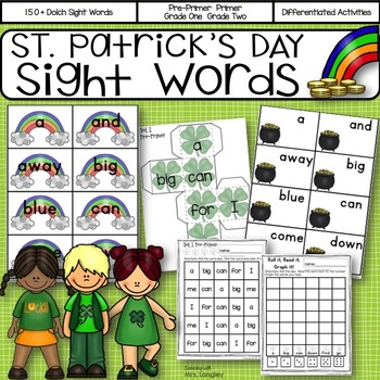 Sight Word Activities for St. Patrick's Day