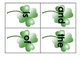 St. Patrick's Day Sight Word Centers