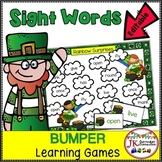 St. Patrick's Day Sight Word Games: Leprechaun Bumper {EDITABLE}