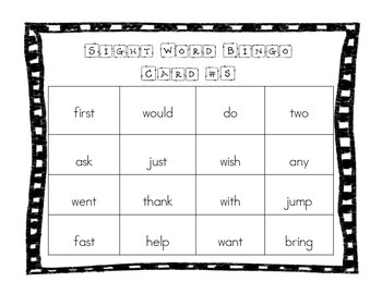 St. Patrick's Day Sight Word Games for the Common Core Classroom