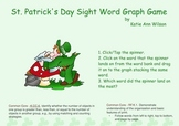 St. Patrick's Day Sight Word Graph Game