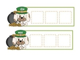St. Patrick's Day Sight Word Puzzles