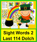 St. Patrick's Day Activities: Game Boards for Last 114 Dol
