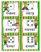 St. Patrick's Day Sight Words- Roll, Read, and Collect High Frequency Words