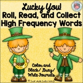 St. Patrick's Day Sight Words- Roll, Read, and Collect Hig