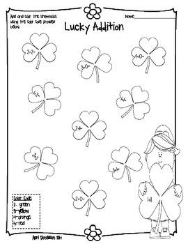 St. Patrick's Day Skills Pack