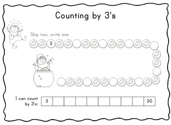 St Patrick's Day Skip-Counting Freebie