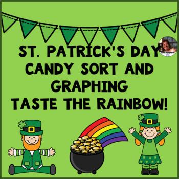 St. Patrick's Day Skittle Sort & Graph