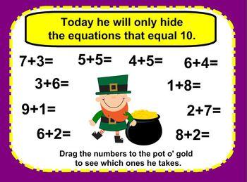 SMART Board St. Patrick's Day The Tricky Leprechaun (Preschool and Kinder)