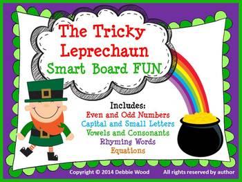 SMARTboard St. Patrick's Day: The Tricky Leprechaun