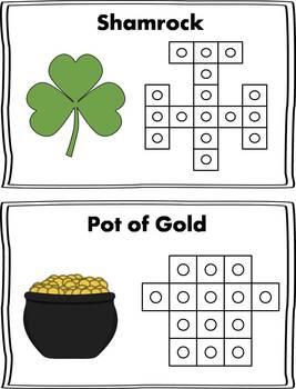 St. Patrick's Day Snap Cube Activity {FREEBIE}