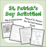 St. Patrick's Day Social Studies Activities!