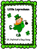 "St. Patrick's Day Leprechaun Song: ""Little Leprechaun"" - m"