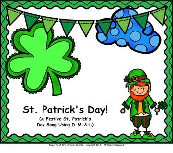 St. Patrick's Day Songs/Activities BUNDLE KIT