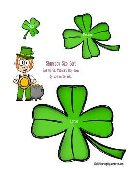 St. Patrick's Day Sorting game