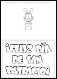 St. Patrick's Day Spanish Card