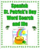 Spanish St. Patrick's Day Word Search Puzzle and IDs / El Día de San Patricio