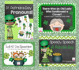 St. Patrick's Day Speech & Language Bundle!