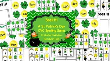 St Patricks Day Spell It! CVC