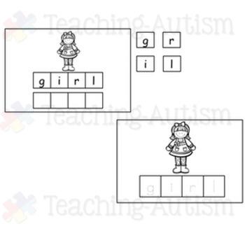 St Patrick's Day Spelling Task Cards
