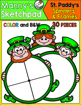 St. Patrick's Day Spinners & Frames