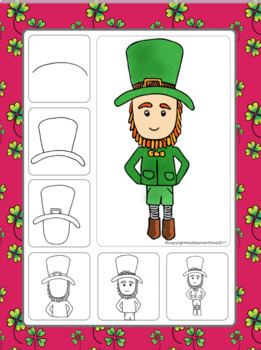 March Directed Drawings St. Patricks Day and Spring