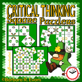 ST. PATRICK'S DAY ACTIVITY: Puzzles, Critical Thinking, March Activities, G/T