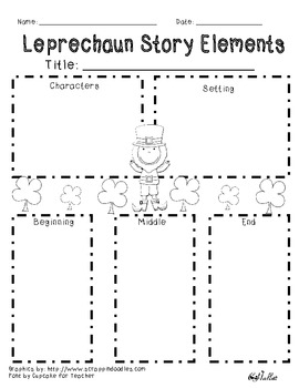 St. Patrick's Day Story Elements