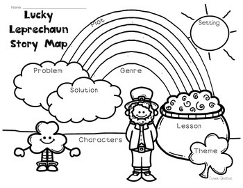 St. Patrick's Day Story Map (Leprechaun Story Map)