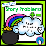 St. Patrick's Day Story Problems - Addition & Subtraction within 1000
