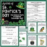 St. Patrick's Day Activity - Scavenger Hunt