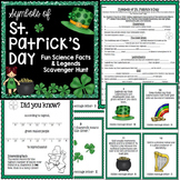St. Patrick's Day Activity - Scavenger Hunt