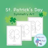 St. Patrick's Day Symmetry Art