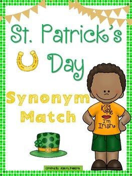St. Patrick's Day Synonym Match