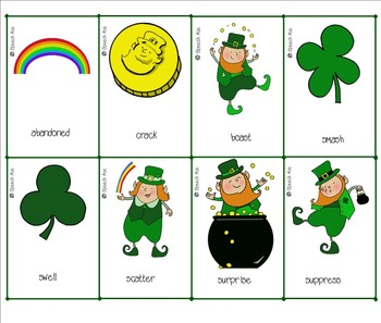 St. Patrick's Day Synonyms and Antonyms: Upper Elementary