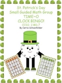 St. Patrick's Day TIME O Bingo CCSS 2.MD.7